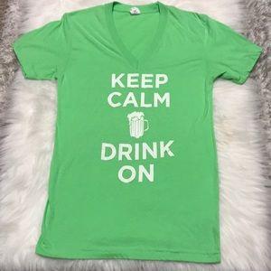 St. Patrick's Day V-Neck Tee